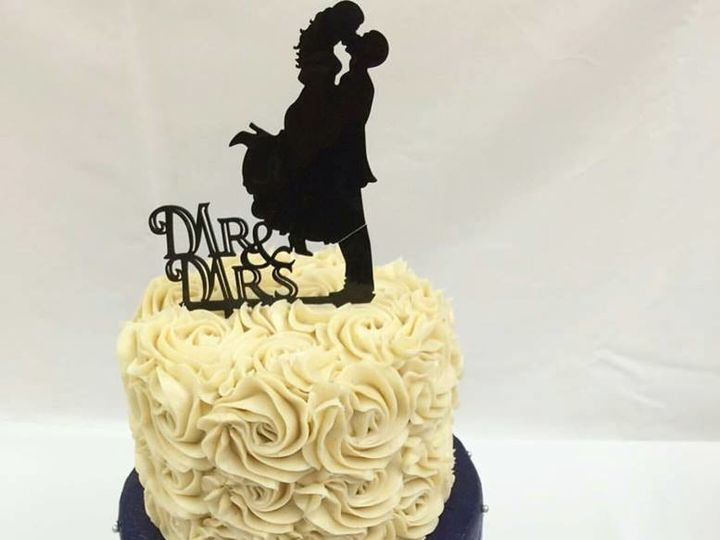 Tmx 1500935447005 14590390101544351912206317550584252636677423n Orlando, Florida wedding cake