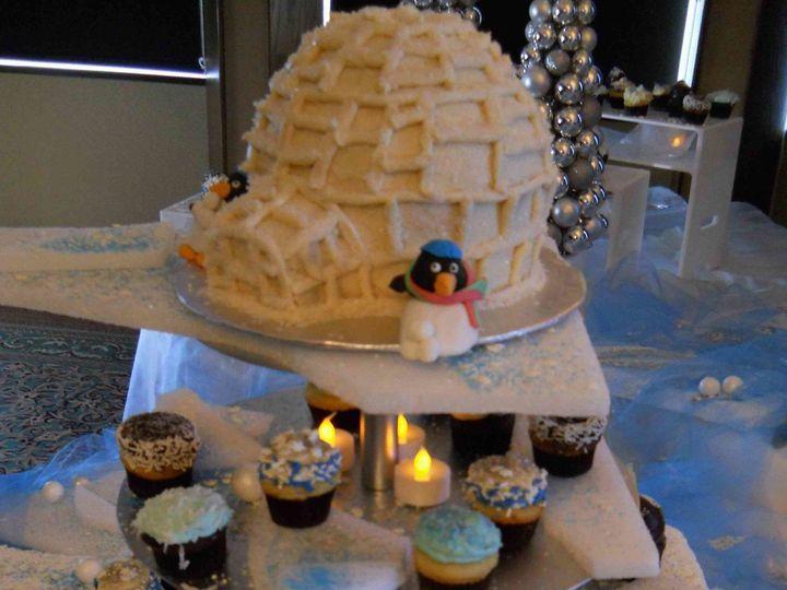 Tmx 1500935534168 Winter Ice Party Orlando, Florida wedding cake