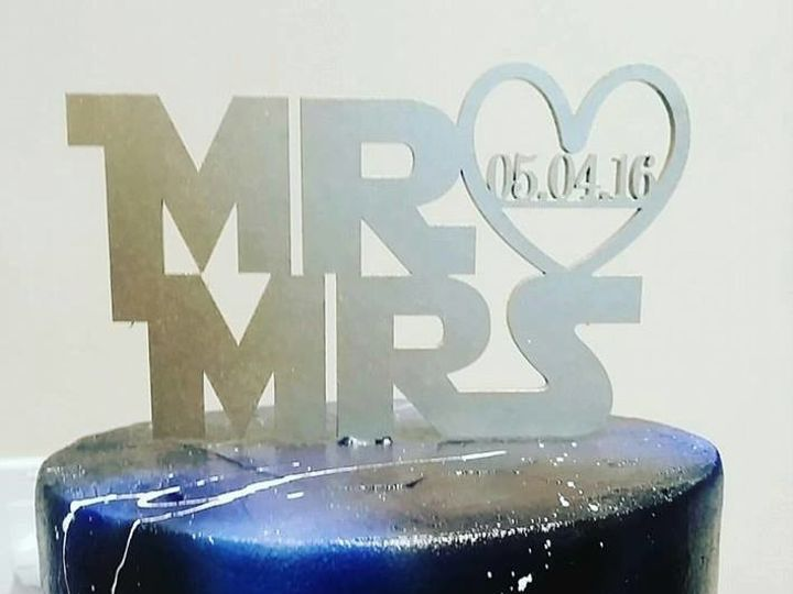 Tmx 1502674344709 14705606101544351923006317437341935476279606n Orlando, Florida wedding cake