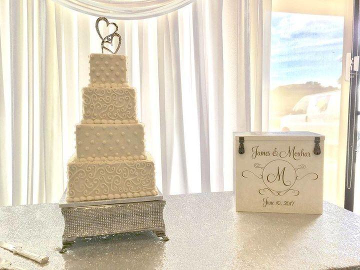 Tmx 1502674523787 19437508101552533138656318823387464808163504n Orlando, Florida wedding cake