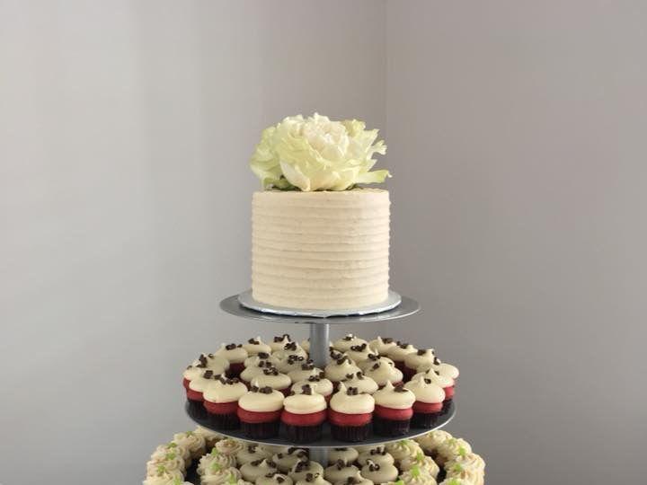 Tmx 1528030912 8a2dec57a5bc1024 1528030911 E2b4d1e7588a6419 1528030904664 1 IMG 4656 Orlando, Florida wedding cake