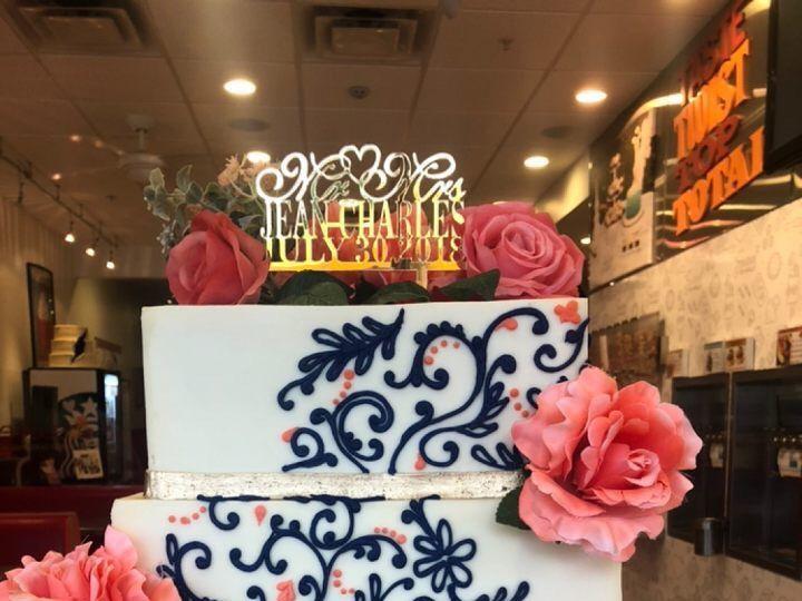Tmx 1534346062 F4119e38a5ac0ddb 1534346059 621441a70c7c1247 1534346065645 4 IMG 1574 Orlando, Florida wedding cake