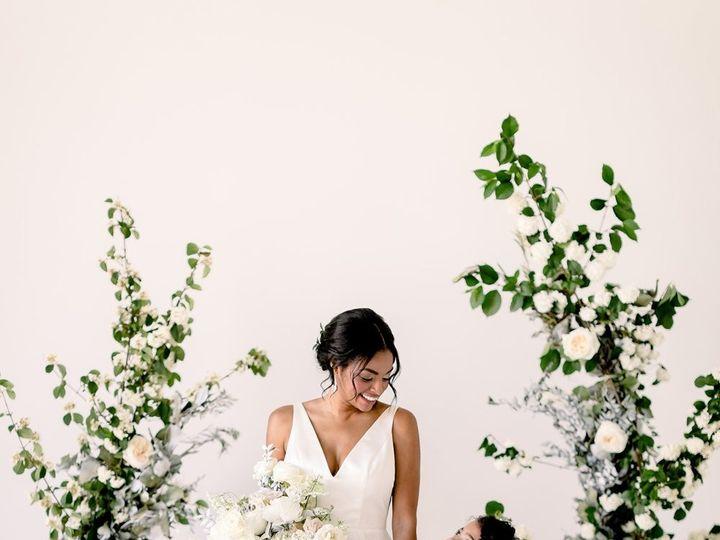 Tmx Intimate Monochromatic Wedding Inspiration Modern 07 51 608042 1565658439 Audubon, NJ wedding planner