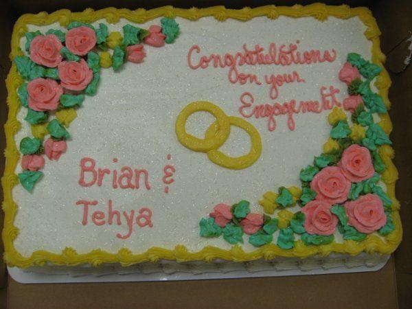 Tmx 1256215575371 EngagementCake Thorndale, Pennsylvania wedding cake