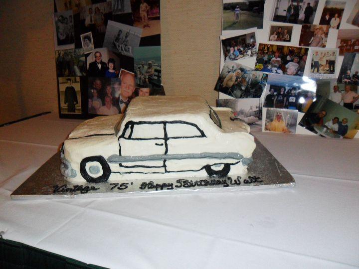 Tmx 3d 57 Chevy 1 51 170142 Thorndale, Pennsylvania wedding cake