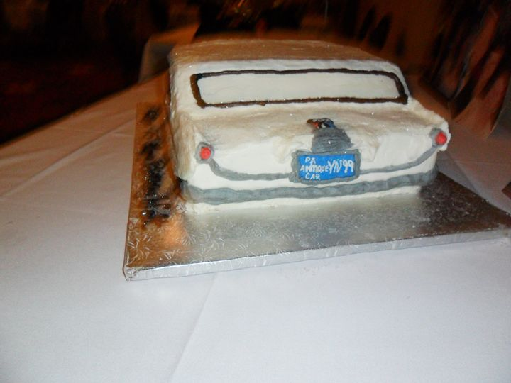 Tmx 3d 57 Chevy 3 51 170142 Thorndale, Pennsylvania wedding cake