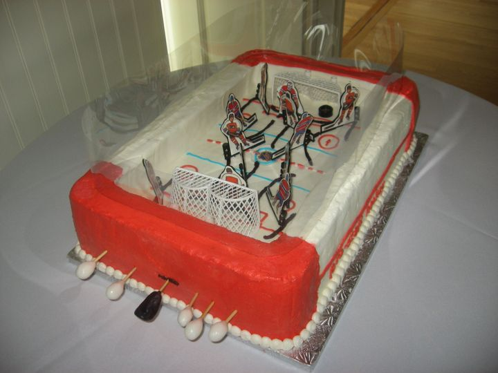 Tmx 3d Hockey Game 2 51 170142 Thorndale, Pennsylvania wedding cake