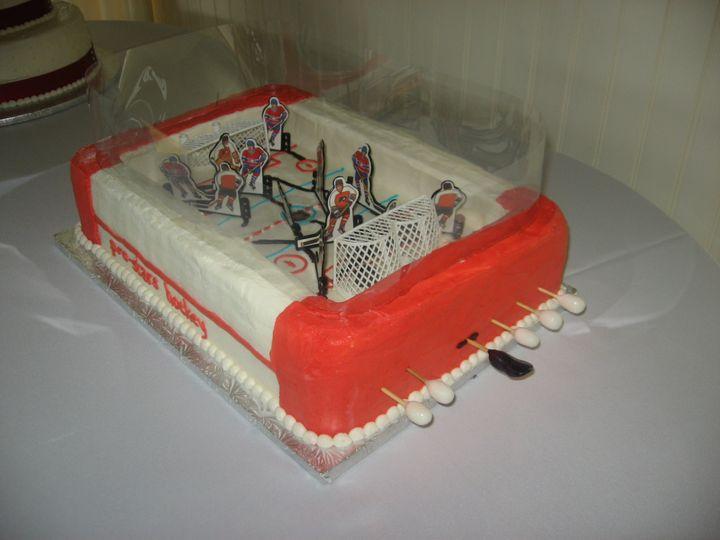 Tmx 3d Hockey Game 51 170142 Thorndale, Pennsylvania wedding cake