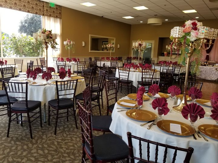 Tmx Burgandy Set Up 51 591142 Downey, CA wedding venue