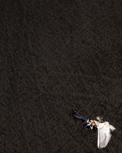 Iceland Wedding Drone