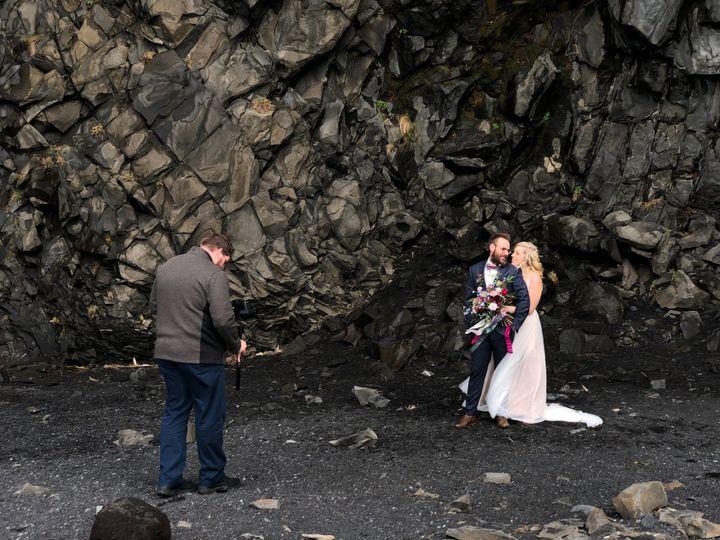 Filming Iceland Wedding in Vík