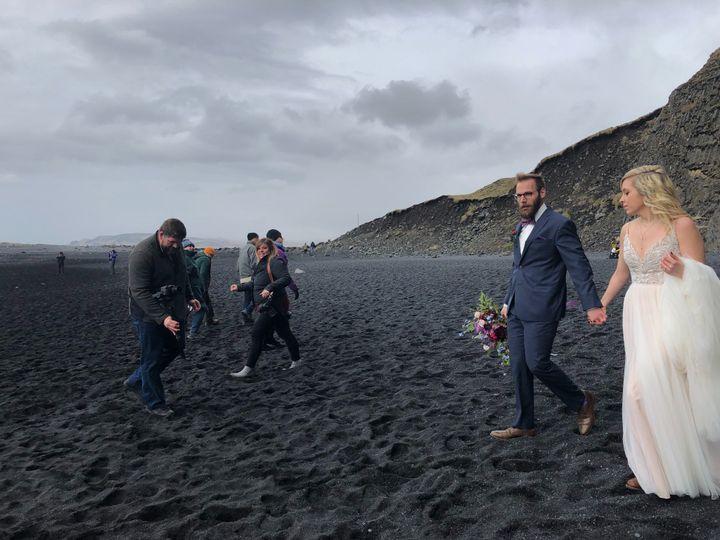 Filming Iceland Wedding