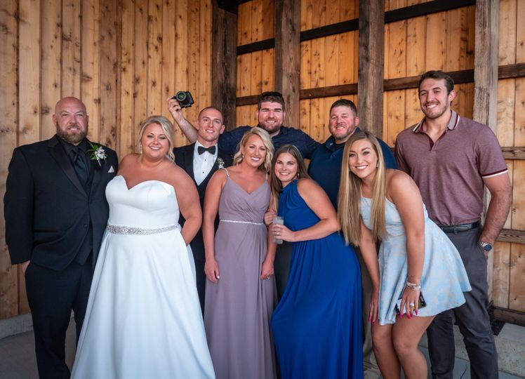 2019 wedding with past clients