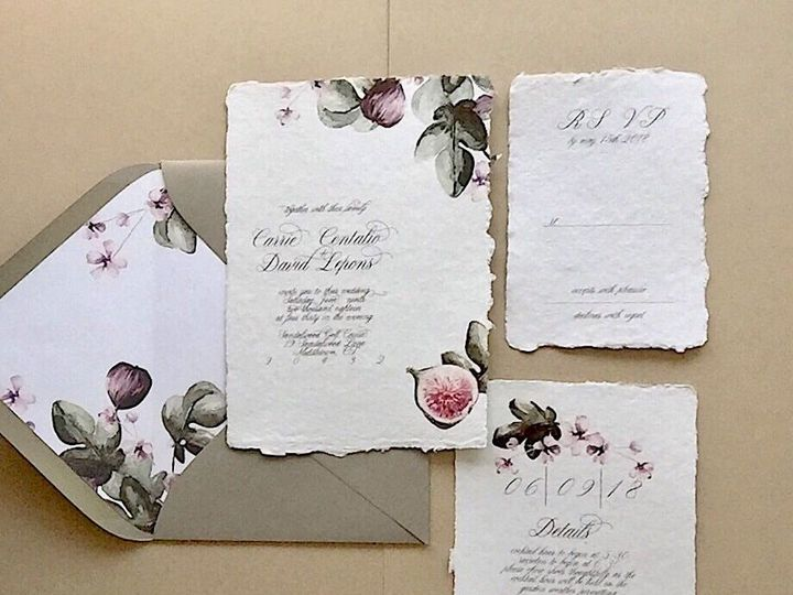 Tmx 1533764068 82e106d42ce1de71 1533764067 1e165319488e7972 1533764066872 2 FullSizeRender 4 New Rochelle wedding invitation