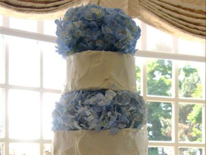 Tmx 1200845259628 Bluehydrangea Westport wedding cake