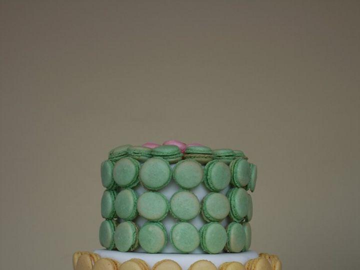 Tmx 1359493971506 Macaron Westport wedding cake