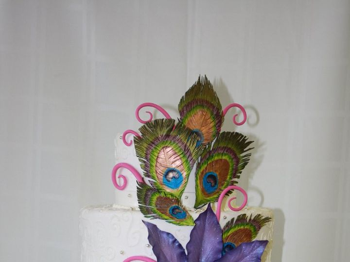 Tmx 1359494205037 Peacock Westport wedding cake