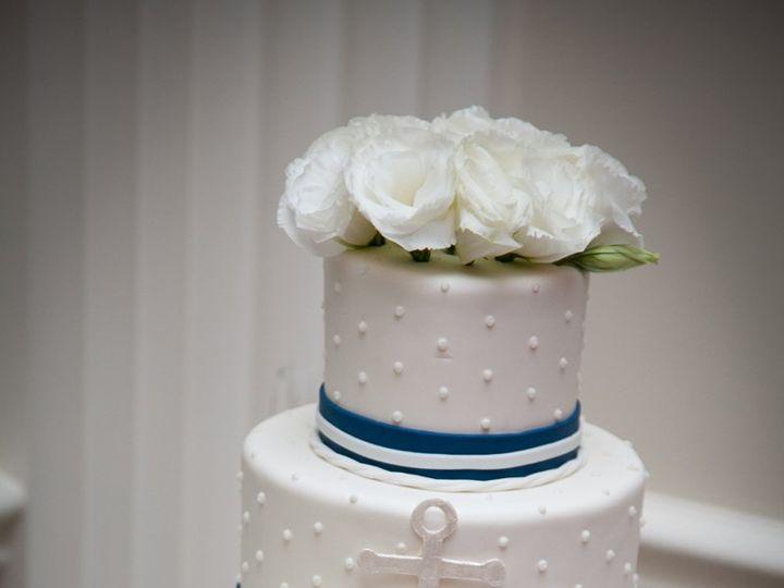 Tmx 1359494483192 Nauticalwedding Westport wedding cake