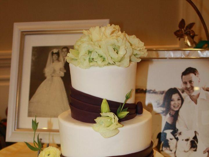 Tmx 1359494949639 Eggplantbands Westport wedding cake