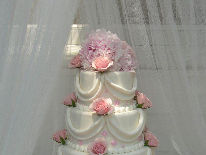Tmx 1359495149213 Pinkapplique Westport wedding cake