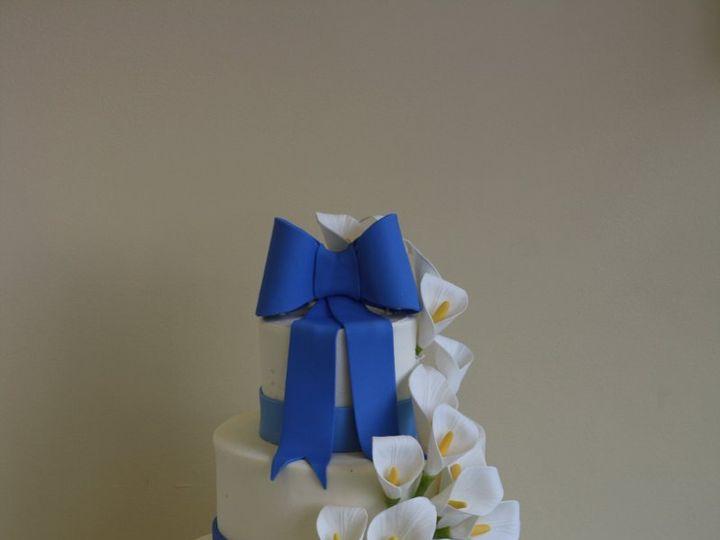 Tmx 1359495407845 Callalily Westport wedding cake