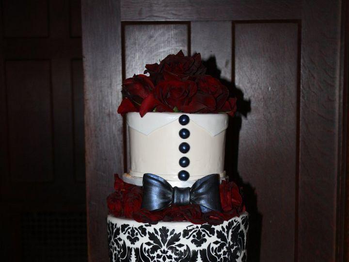 Tmx 1359495455082 Bowtie Westport wedding cake