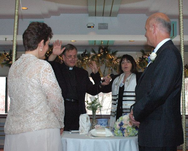 Debbie and Greg had a co-officiated wedding - an Episcopal Priest and myself. Debbie's father, who...