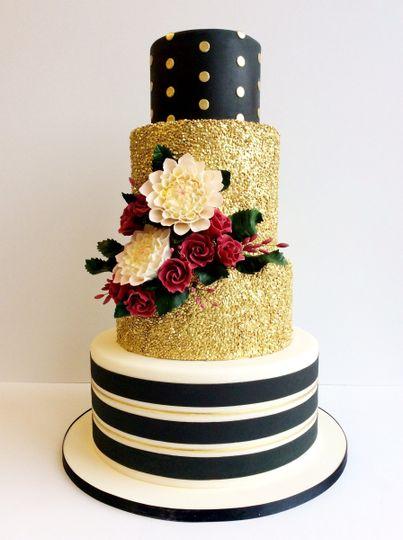 Amy Beck Cake Design LLC - Wedding Cake - Chicago, IL - WeddingWire