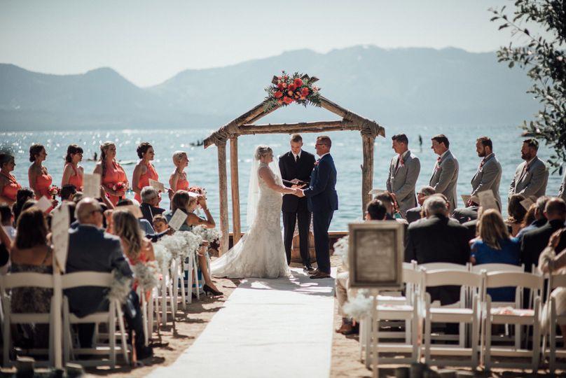 jared erin elkins lake tahoe resort wedding califo