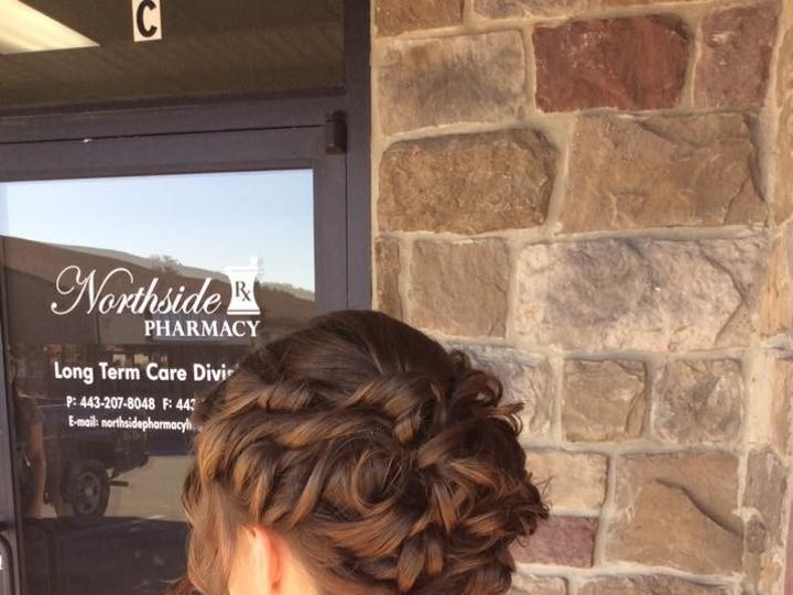 Tmx 1476762383359 Updo Elkton, MD wedding beauty