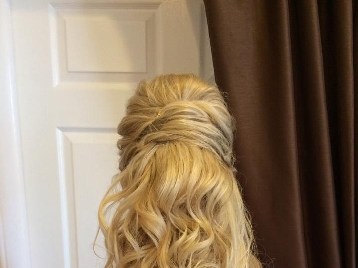 Tmx 1477535993138 Bridal Hair Back Halfdown Elkton, MD wedding beauty