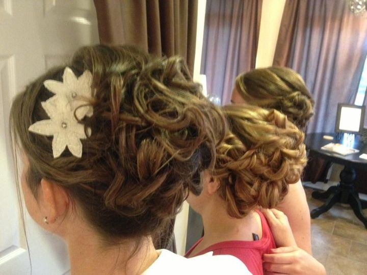 Tmx 1477536009363 Bridal Party Formal Updo Elkton, MD wedding beauty