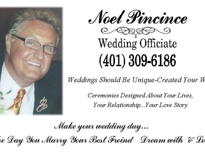 Tmx 1491230864641 Noelpincince3 Woonsocket, RI wedding officiant