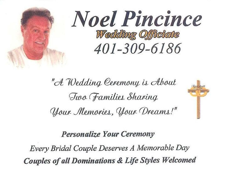 Tmx 1493320480541 Noelpic1 1 Page 001 Woonsocket, RI wedding officiant