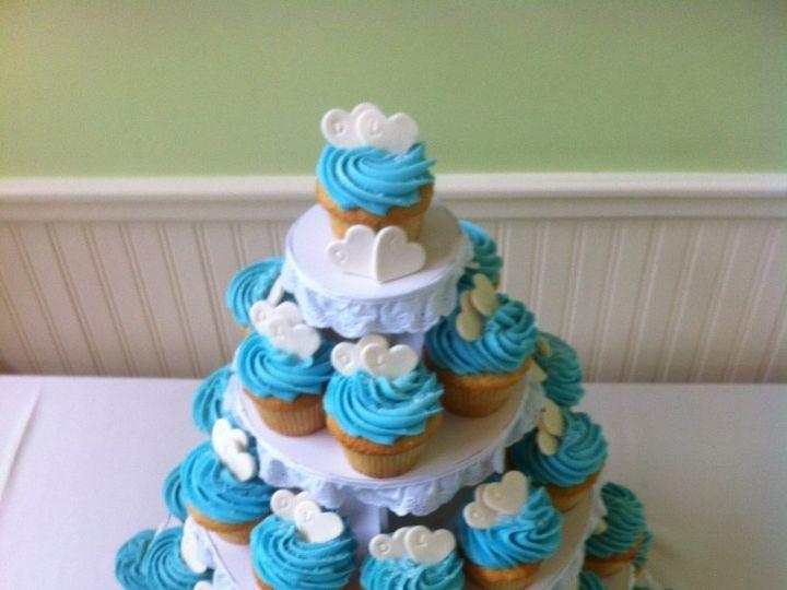 Tmx 1398183003264 Bluecupcakes E1381953793223 764x102 Reisterstown wedding cake
