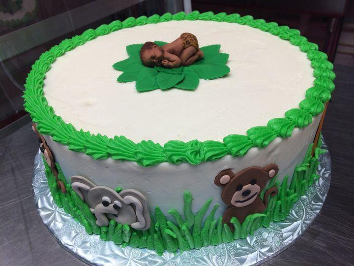 Tmx 1415120829320 Babycake Reisterstown wedding cake