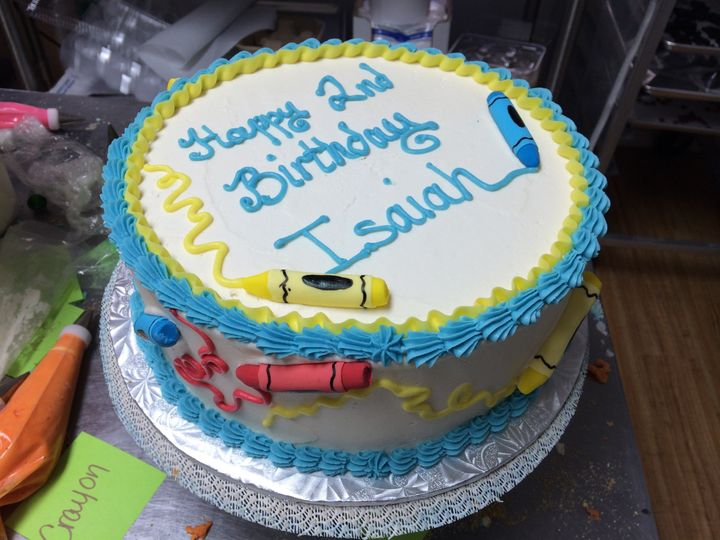 Tmx 1415120885996 Crayons Reisterstown wedding cake