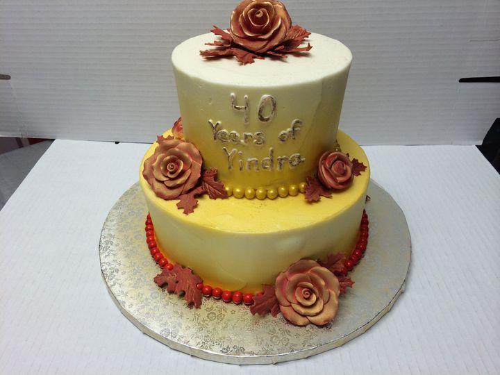 Tmx 1415120956068 Goldcake Reisterstown wedding cake