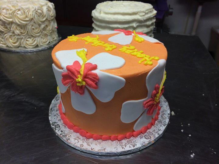 Tmx 1415121046868 Orangeflower Reisterstown wedding cake