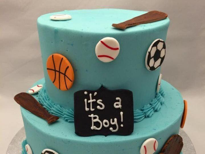 Tmx 1479240991357 Special Cake 3 Reisterstown wedding cake