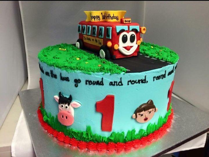 Tmx 1479241025634 Special Cake 4 Reisterstown wedding cake