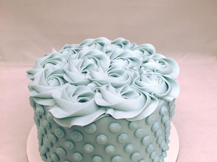 Tmx 1531863740 74e0543a1d9542b0 1531863739 C37600662ae36782 1531863739479 7 Hob Nail Cake Reisterstown wedding cake