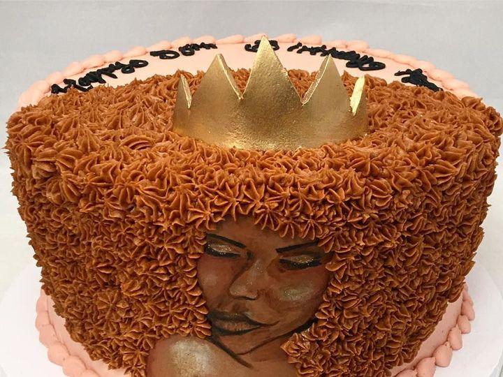 Tmx 1531937626 794c6dbc57869cb6 1531937625 5d09530ec82c439e 1531937623101 1 Afro Queen Reisterstown wedding cake