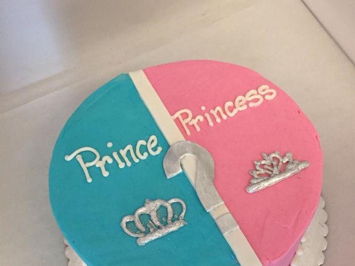 Tmx 1531937642 74b9e67540beac62 1531937641 E22edd0515c3753d 1531937639348 4 Gender Reveal Reisterstown wedding cake