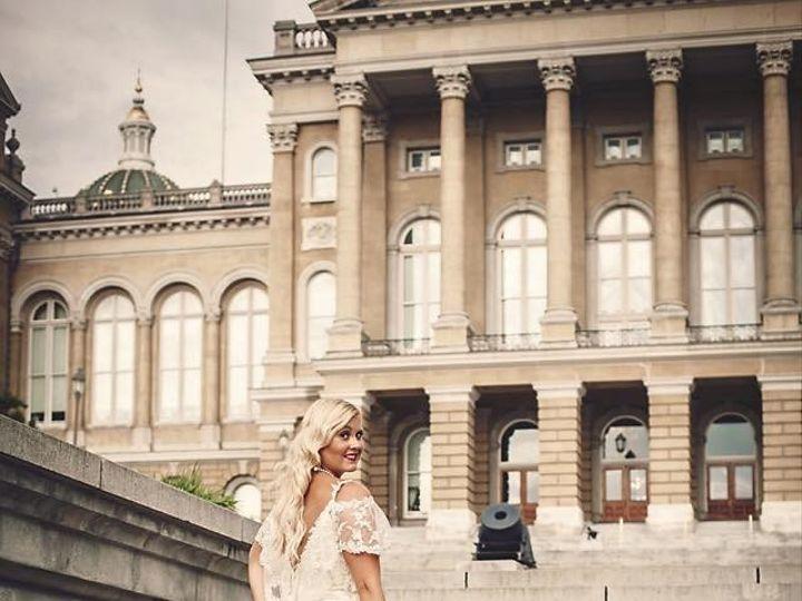Tmx 1466717433917 Des Moines Ia Wedding Great Gatsby Bride Davenport wedding dress