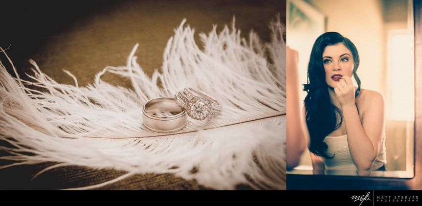 Brides with unique and special style inspire us to photograph differently, and we love it! Kasi's...