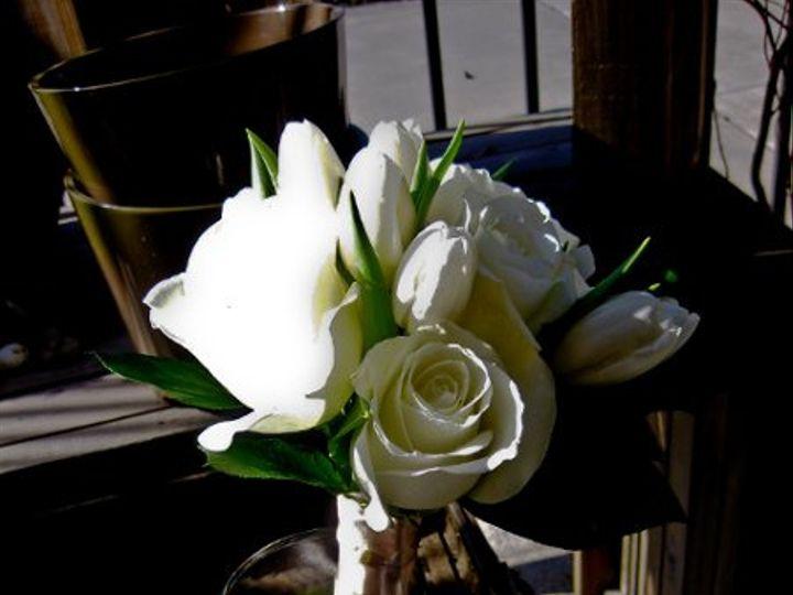 Tmx 1267664785970 Whiterosesandtulipsbouquet Rowlett wedding florist