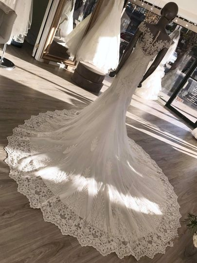 Rachel and Rose gown