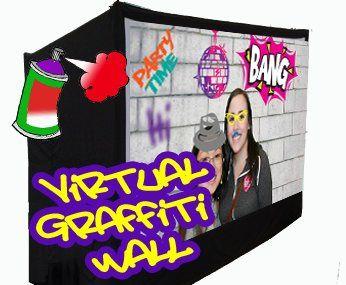 Virtual Graffiti Wall and Photo Booth
