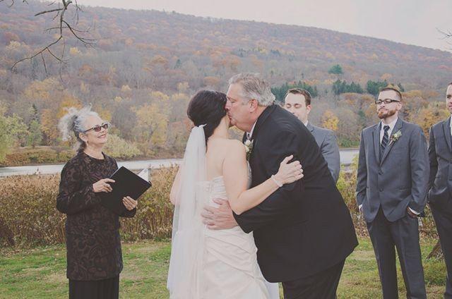 Tmx 1415821867342 Give Away Bride Sharyn Frenkel Saylorsburg, PA wedding officiant